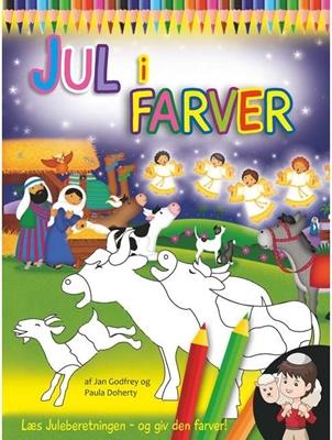 Jul i farver Jan Godfrey, Paula Doherty 9788791338496