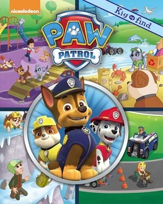 Nickelodeon Kig & Find Paw Patrol  9788771313895