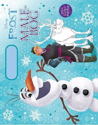 Disney malebog med håndtag Olaf  9788771860078