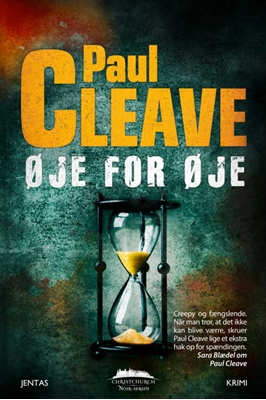 Øje for øje Paul Cleave 9788776778798