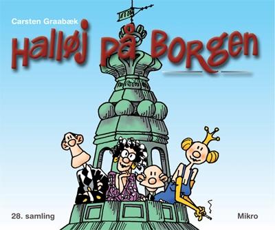 Halløj på Borgen Carsten Graabæk 9788770461740
