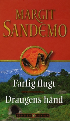 Sandemoserien 8 - Farlig flugt og Draugens hånd Margit Sandemo 9788776771263