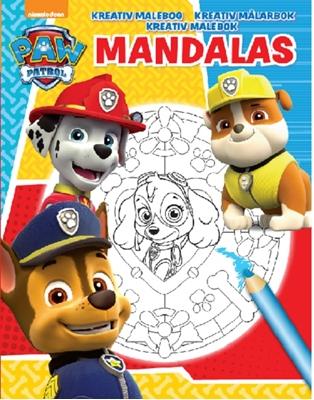 Nickelodeon Mandalas Paw Patrol  9788771313864