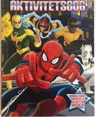 Marvel Spiderman Aktivitetsbog  9788793267282
