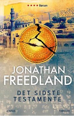 Det sidste testamente Jonathan Freedland 9788776776381