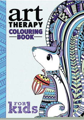 Art Therapy Colouring for Kids  9788793271067
