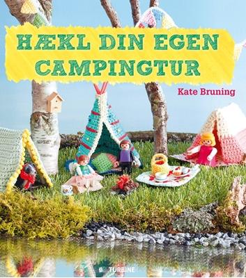 Hækl din egen campingtur Kate Bruning 9788740610086