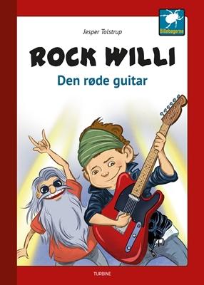 Rock Willi - Den røde guitar Jesper Tolstrup 9788740620443