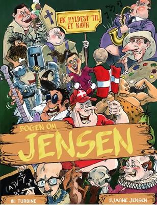 Bogen om Jensen Bjarne Jensen 9788740617580