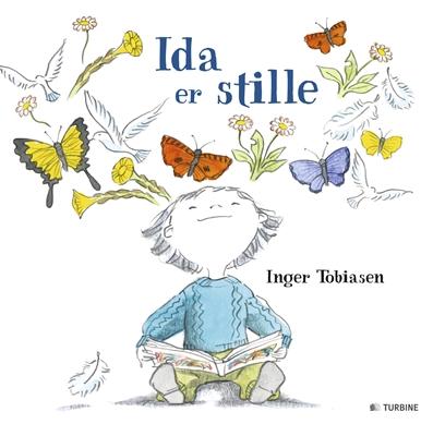 Ida er stille Inger Tobiasen 9788740608847