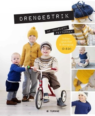 Drengestrik Charlott Pettersen 9788771417838