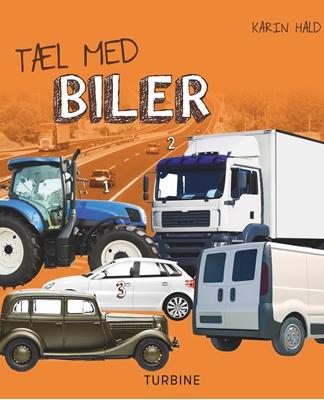 Tæl med biler Karin Hald 9788740621464