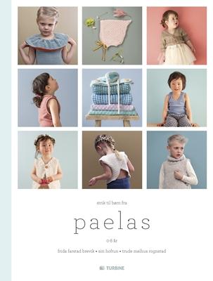 Strik til børn fra Paelas Frida Farstad Brevik 9788740610154
