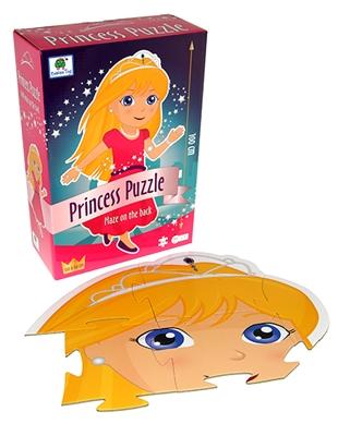 Prinsesse gulvpuslespil Ukendt forfatter 5704976058106