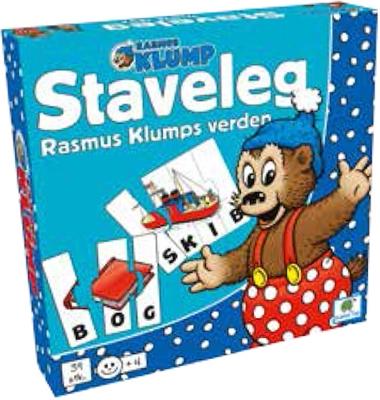 Rasmus Klump - staveleg  5704976074342
