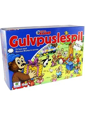 Rasmus Klump Gulvpuslespil - Til fest med vennerne Ukendt forfatter 5704976074014