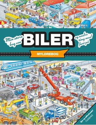 Min store bog om biler og andre ting med fart på Stefan Lohr 9788740618631