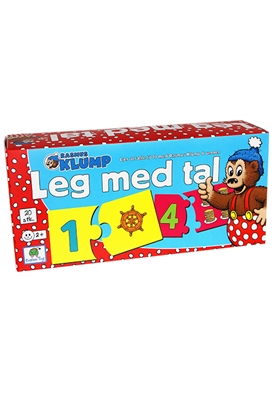 Rasmus Klump - Leg med tal  5704976074304