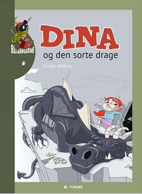 Dina og den sorte drage Kirsten Ahlburg 9788740612646