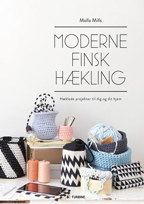 Moderne finsk hækling Molla Mills 9788740604726