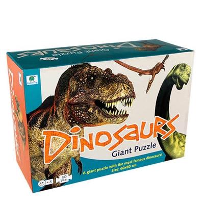 Dinosaur gulvpuslespil Ukendt forfatter 5704976059424