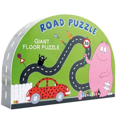 Barbapapa Road puzzle Ukendt forfatter 5704976022305