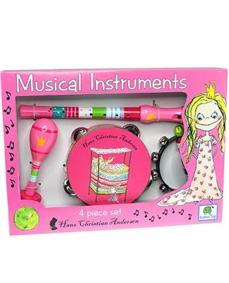 H.C. Andersen Musikinstrumenter Prinsessen på ærten  5704976061489