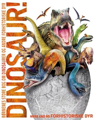 Børnenes store bog om dinosaurer og andre forhistoriske dyr John Woodward 9788778845498