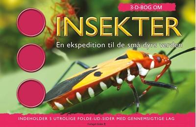 3D Bog om Insekter Jen Green 9788779009899