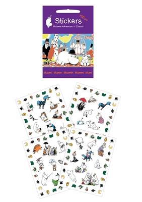 Mumitroldene stickers: På opdagelse Ukendt forfatter 5704976071228
