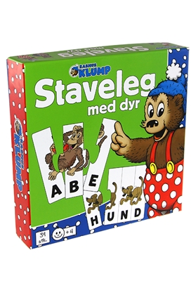 Rasmus Klump - staveleg med dyr  5704976074359