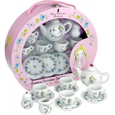 Tesæt i porcelæn - Prinsessen på ærten  5704976061816