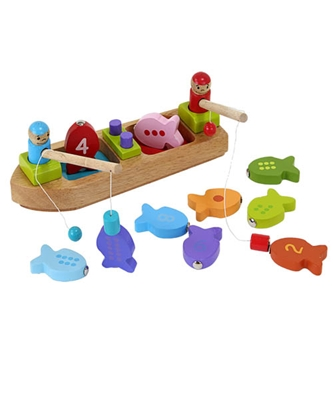 Fiskebåd i træ  5704976059707