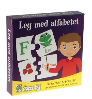 Leg med alfabetet  5704976058984
