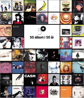 50 album i 50 år Peter Schollert 9788740022568