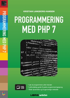 Programmering med PHP 7 Kristian Langborg- Hansen 9788778538048