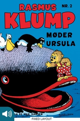 Rasmus Klump møder Ursula Vilhelm Hansen, Carla Hansen 9788711343043