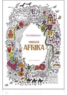 Farvelæg Afrika Pia Ribberholt 9788771903669