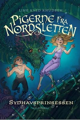 Pigerne fra Nordsletten 4 - Sydhavsprinsessen Line Kyed Knudsen 9788702125023
