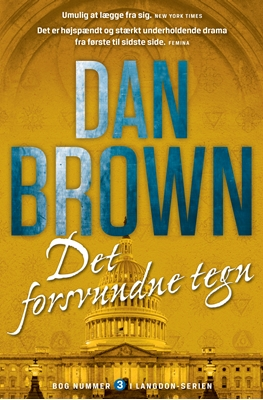 Det forsvundne tegn Dan Brown 9788792845702