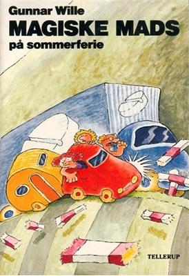 Magiske Mads på sommerferie Gunnar Wille 9788790100254
