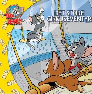 Tom & Jerry - Det store cirkuseventyr DK (udgave læs dansk med Tom & Jerry) Kevin Bricklin 9788793219106