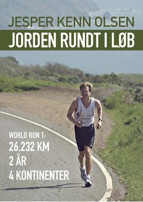 Jorden rundt i løb Jesper Kenn Olsen 9788755951037