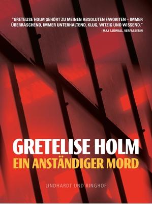 Ein anständiger Mord Gretelise Holm 9788711345412