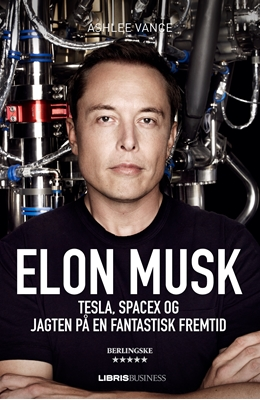 Elon Musk Ashlee Vance 9788778536723