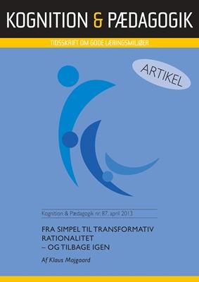 Fra simpel til transformativ rationalitet Klaus Majgaard 9788771851229