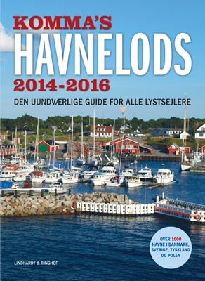 Komma's havnelods 2014-2016 Knut Iversen 9788711377826