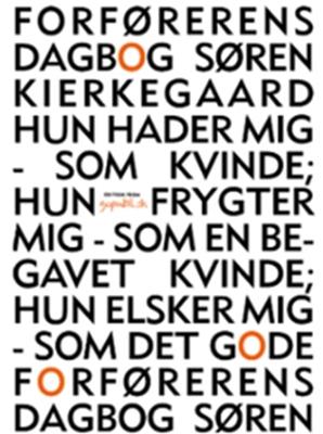 Forførerens Dagbog Søren Kierkegaard 9788792782366