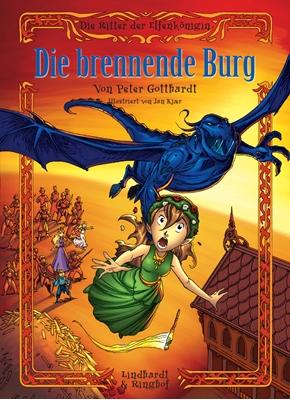 Die Ritter der Elfenkönigin 3: Die brennende Burg Peter Gotthardt 9788711333754
