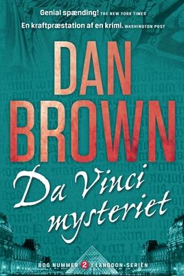 Da Vinci mysteriet Dan Brown 9788792845689